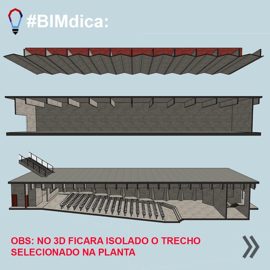 Fonte: SpBIM | Archicad | Selecionar e isolar em 3D no Archicad | Figura 4